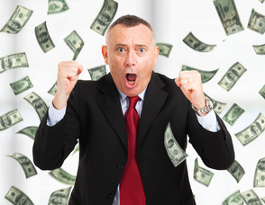 man dancing in cash small How to Explode Your Email Marketing ROI With Your CRM